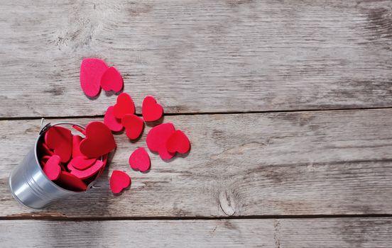 праздник, Сердца в ведре, День Святого Валентина