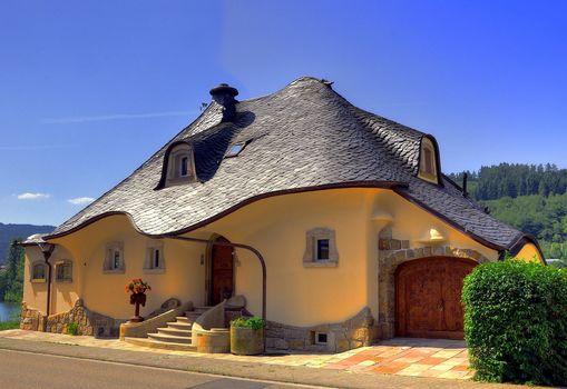 фото, Германия, дом, город