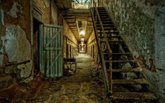 interior, prison