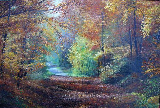 canvas, picture, oil