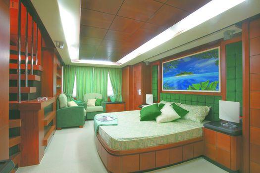 luxury, yacht, interior, cabin, design, style