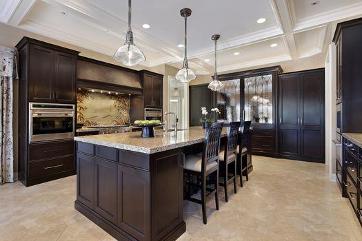 design, Chandeliers, equipment, kitchen, furniture, chairs.
