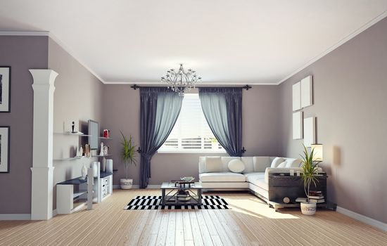 furniture, window, sofa, interior, room