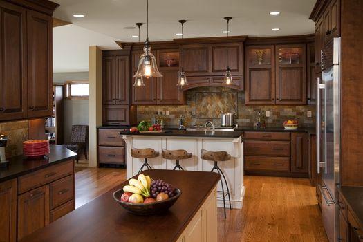 room, interior, villa, home, kitchen, design, style