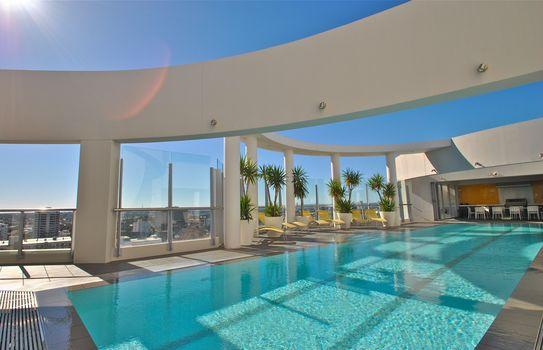 interior, style, Penthouse, pool, design, city