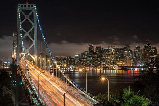 San Francisco, город, мост