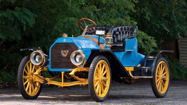 classic, car, nostalgia, 1909_EMF_Model_30_Roadster
