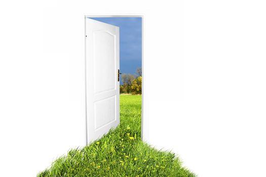 Open, Door, Way, дверь в лето