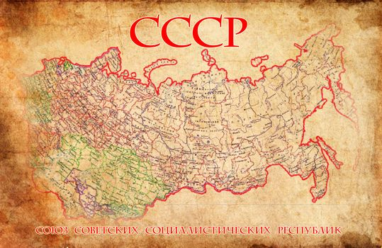 map, ussr, map