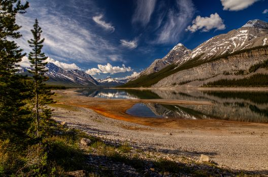 Spray Lake, Kananaskis Country, Alberta, Canada