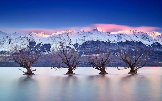 Lake Wakatipu, Queenstown, New Zealand, Southern Alps, Lake Wakatipu, Queenstown, New Zealand, Southern Alps, lake, Mountains, trees