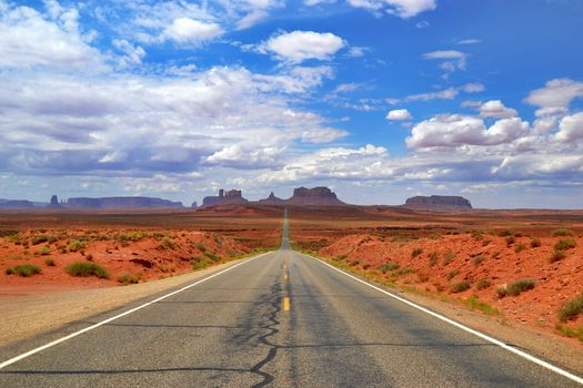 Monument Valley, Arizona, road