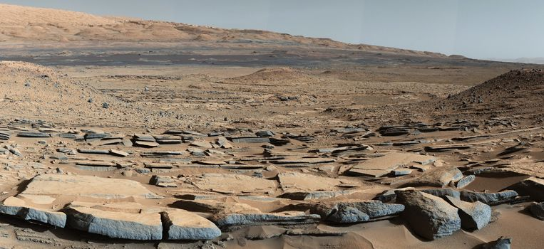Mars, photo, science, space, SURFACE, planet, nature, landscape, stones, panorama