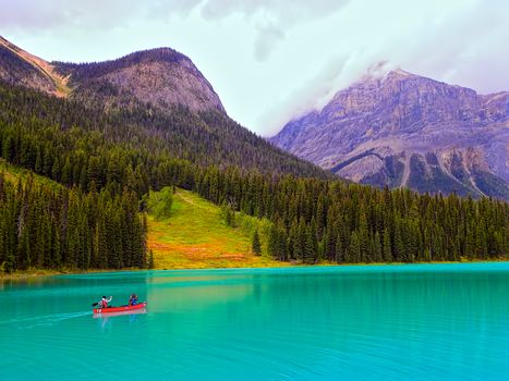 Emerald Lake, Rocky Mountains, Canada