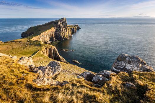 Neist Point, Isle of Skye, Scotland, landscape