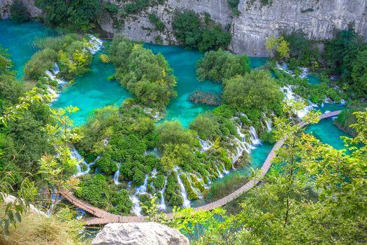 Plitvice Lakes, Croatia, пейзаж
