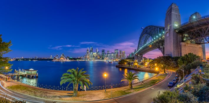 Sydney, australia, city, panorama