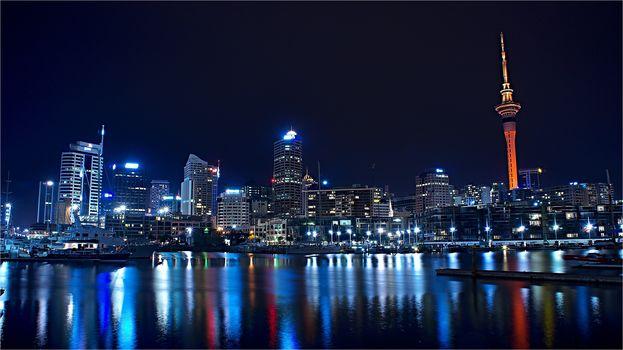 Auckland, New Zealand, город