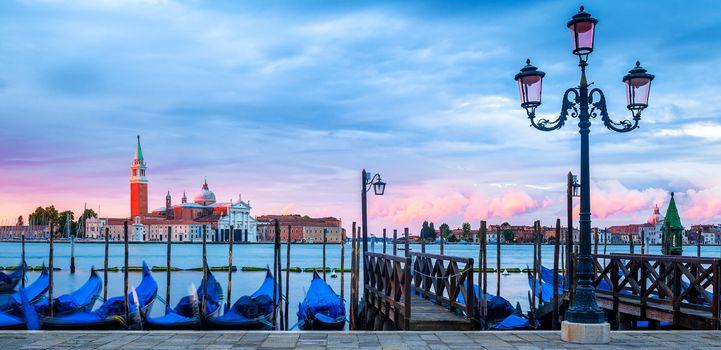 Venice, Italy, sunset