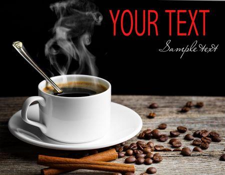кофе, зёрна, кружка