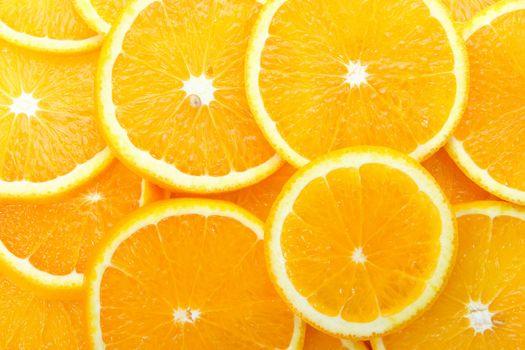 апельсины, дольки, фрукты