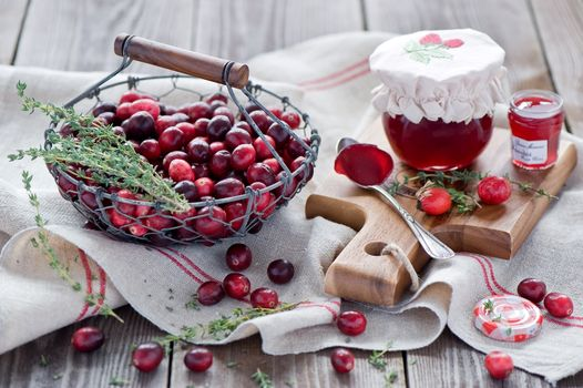cranberries, Jam, cans, BERRY