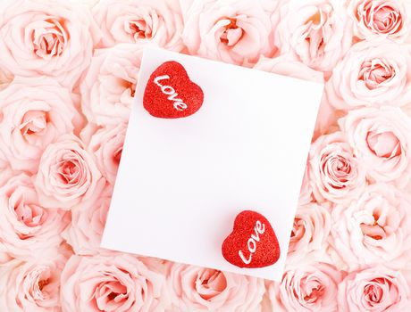 holiday, Valentine, heart, Petals, Flowers, Roses
