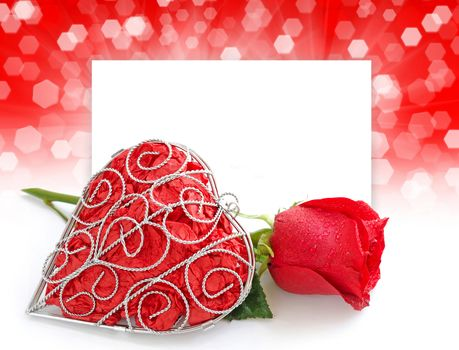holiday, Valentine, heart, Petals, Flowers, rose