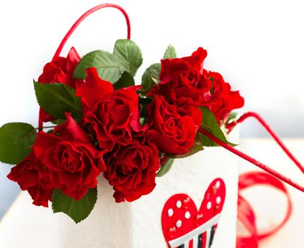 holiday, Valentine, heart, Roses, Flowers, gift