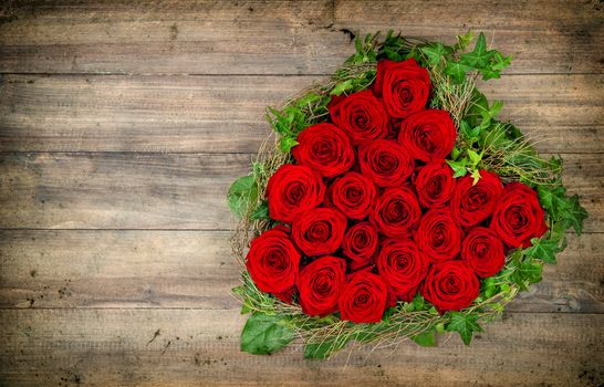 holiday, Valentine, heart, Flowers, Roses