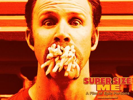 the issue of obesity in supersize me a film by morgan spurlock Director morgan spurlock's social experiment in fast-food gastronomy people and its contribution to america's obesity super size me can be.