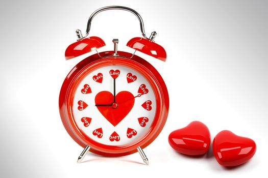 Personas by Kisenok, Valentine, Valentine's Day, holiday, heart, hearts, watch, alarm clock