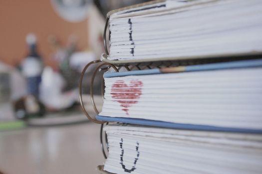 Personas by Kisenok, Valentine, Valentine's Day, holiday, heart, hearts, Heart, Books
