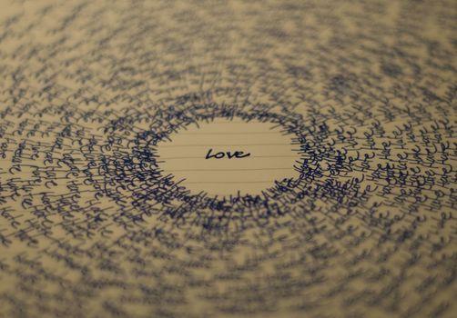Personas by Kisenok, Valentine, Valentine's Day, holiday, love, inscriptions, paper