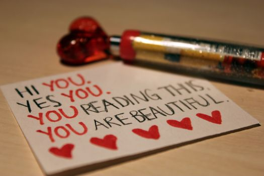Personas by Kisenok, Valentine, Valentine's Day, holiday, heart, hearts, Heart, note