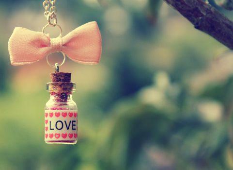 Personas by Kisenok, Valentine, Valentine's Day, holiday, heart, hearts, Heart, bottle, bow, love