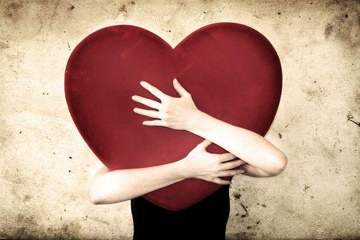 Personas by Kisenok, Valentine, Valentine's Day, holiday, heart, hearts, Heart, hands