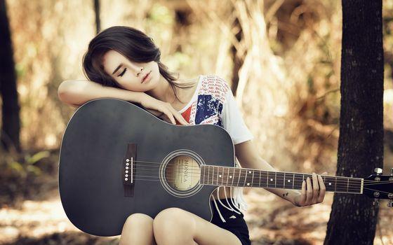 Гитаристки Азии (30 шт)