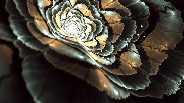 Kisenok рулит, абстракция, цветы, космические цветы, цветочная абстракция, рендеринг, арт, красота