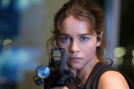 Emilia Clarke, Emilia Clarke, actress, star, cinemactress, TERMINATOR: GENISYS, Terminator: Genesis