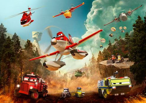 Planes: Fire and water, Cartoon, comedy, Adventures, family