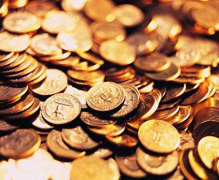 Монетки на счастье (3К, 20 шт)