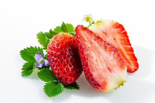 strawberries, berry, food