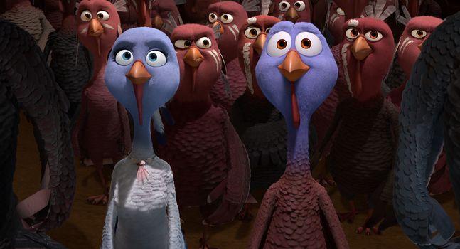 Turkeys: Back to the Future, Cartoon, comedy, Adventures, family