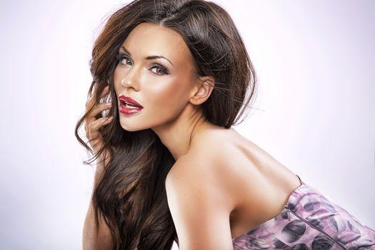 Kisenok рулит, девушка, девушки, макияж, лицо, косметика, стиль, гламур, красота, модель