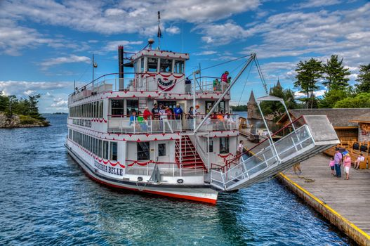 excursion, steamer, Alex Bay, NY, Home of the Thousand Islands