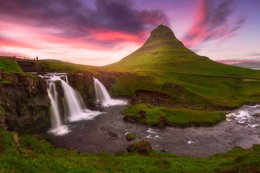 Водопады Исландии (30 шт)