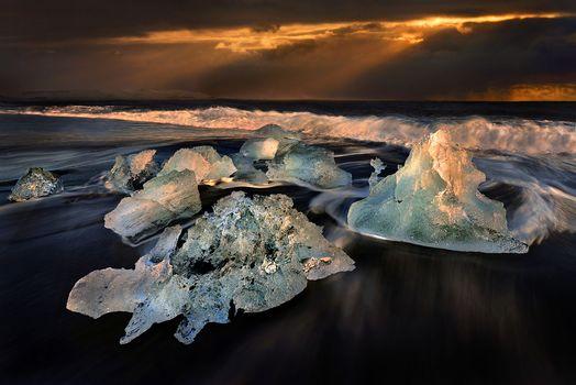 Льды Исландии -2 (18 шт)