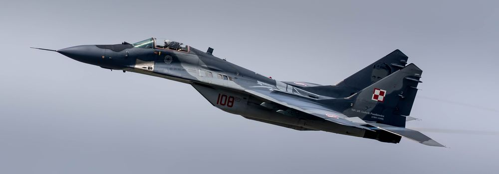 MiG-29, fighter, aircraft, sky