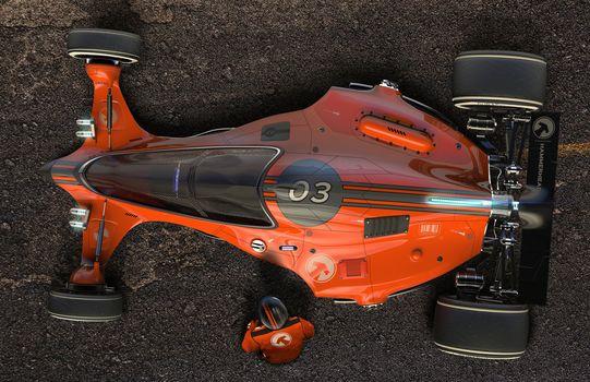 Igor Sobolevsky, car, racing car